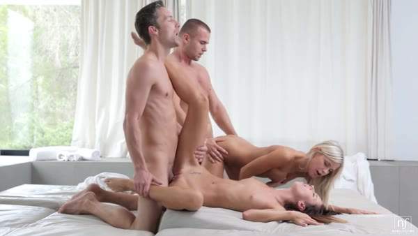 Group sex including Dido Angel