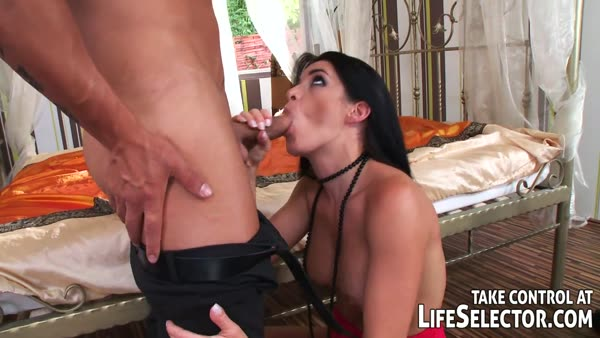 Lana babe bitch with curvy body gets banged her tight pussy on air
