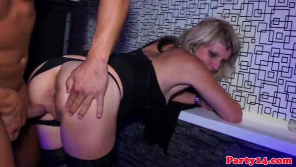 Naughty bachelorette gets nailed her cunt gangbang
