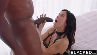 Megan Rain meets huge dick for dirty sex