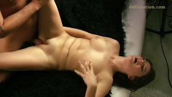 Verka Sudanova's first time sex experience recorded on cam