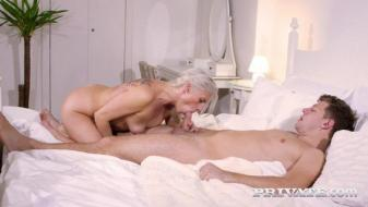 Private - Britany Bardot, MILF takes anal therapy