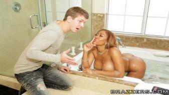 Brazzers - Real Wife Stories - Bubble Bath Booty Call
