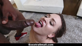 Petite Alex More black dick in the sexy morning