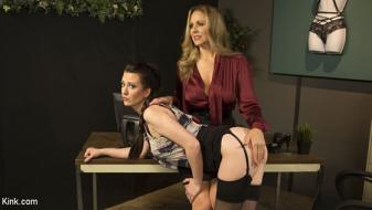 KinkFeatures – Cherry Torn, Julia Ann – Julia Ann Takes Down Cherry Torn With Corrective Discipline