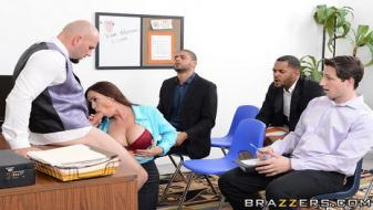 Brazzers - Big Tits At Work - HR Whorientation