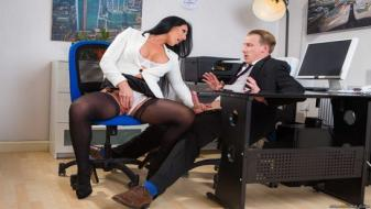 Brazzers - Big Tits at Work - Take Your Teen To Work Day