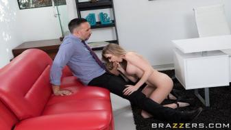 Brazzers - Big Tits At Work - Zen In The A.M.