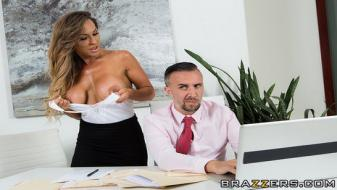 Brazzers - Big Tits At Work - Taking Wifey To Work