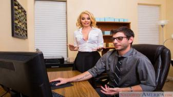 Naughtyamerica - Naughty Office - Aaliyah Love, Logan Long