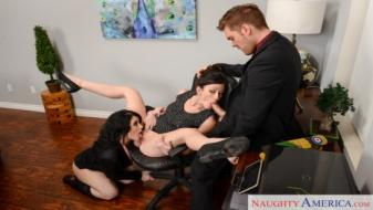 Naughtyamerica - Naughty Office - Jennifer White, Noelle Easton, Ryan Ryder