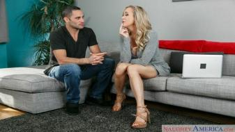 Naughtyamerica - My Friends Hot Mom - Brandi Love, Damon Dice