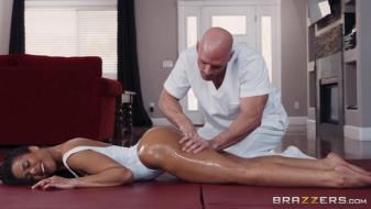 Brazzers - Dirty Masseur - Oily Yoga