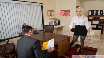 Naughtyamerica - Naughty Office - Cadence Lux, Ryan Driller