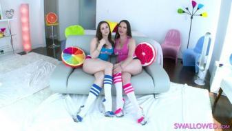 Swallowed - Dana And Chanel Swallow It All