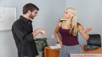 Naughtyamerica - My First Sex Teacher - Sarah Vandella, Logan Long