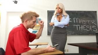 Brazzers - Big Tits at School - Highbrow Pussy