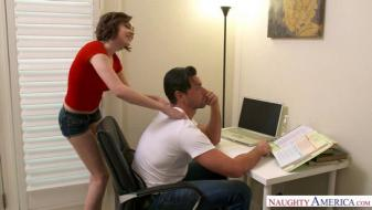 Naughtyamerica - My Sisters Hot Friend - Cadey Mercury, Ryan Driller
