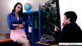 Naughtyamerica - My First Sex Teacher - Lexi Luna, Ricky Spanish