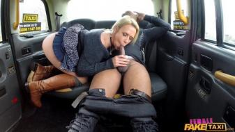 Fakehub - Femalefaketaxi - Big black cock deep in drivers ass