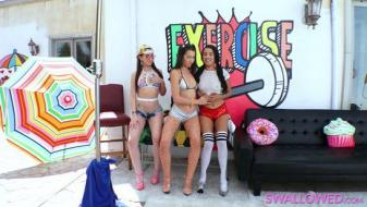 Swallowed - Superslut Sensation With Joseline, Lily and Maya