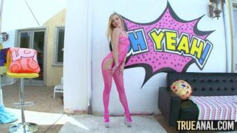Trueanal - Alex Goes All Out Nasty In Her Backdoor Audition
