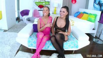 Trueanal - Anal And Squirting Fun With Adriana And Megan