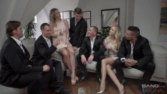 Bang - Vinna Reed And Nikki Dream Take On Five Guys Together For A Group...